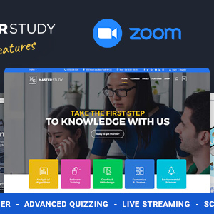 Masterstudy – Education WordPress Theme for Learning, Training Education Center