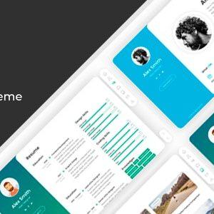 BreezyCV – CV Resume WordPres Theme