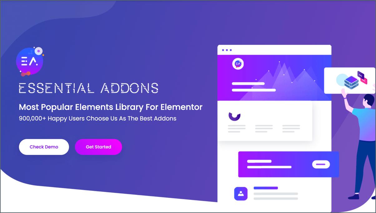 essential elementor addon