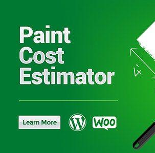 Woocommerce Paint Cost Estimator