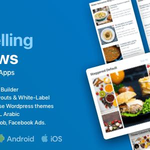 FluxNews – Flutter mobile App for WP