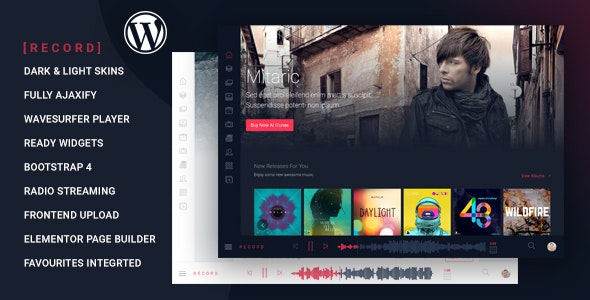 Rekord - Ajaxify Music - Events - Podcasts Multipurpose