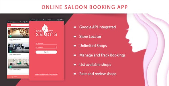 Online Beauty Salon or Spa Booking Solution