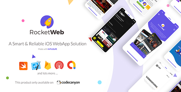Buy RocketWeb | Configurable Android WebView App Template by InfixSoft on CodeCanyon. Template Features Create Android WebView mobile app ...