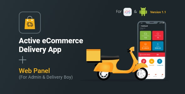 ctive eCommerce cms should be pre-installed in your server · Purchase Delivery Boy Flutter App for Active eCommerce cms from ...
